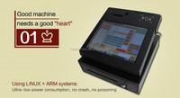 Restaurant cash register digital screen media player pos retail store