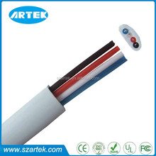 factory supply High quality Indoor 1 meter RJ11 6P4C telephone cable