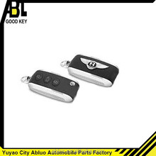 2014 ABLCS Self-development car flip key shell replacement for Bentley