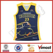 supplying custom sublimation basketball top jerseys 15-4-21-5