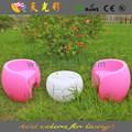Festa material do PE plástico ao ar livre móveis loja de café cadeira de bambu
