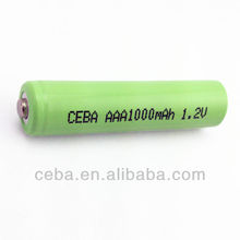 Shenzhen electronics aaa 600mah 1.2v ni-mh rechargeable battery