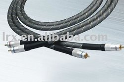 Hi-fi 11mm x 1.5m Super Audio Cable, 2RCA-2RCA for TV, DVD, VCD and Camera