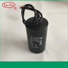 different color plastic round case capacitors 0.1uf 250v