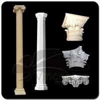 Popular Designs Decorative Marble Columns and Pillars for Garden Decoration