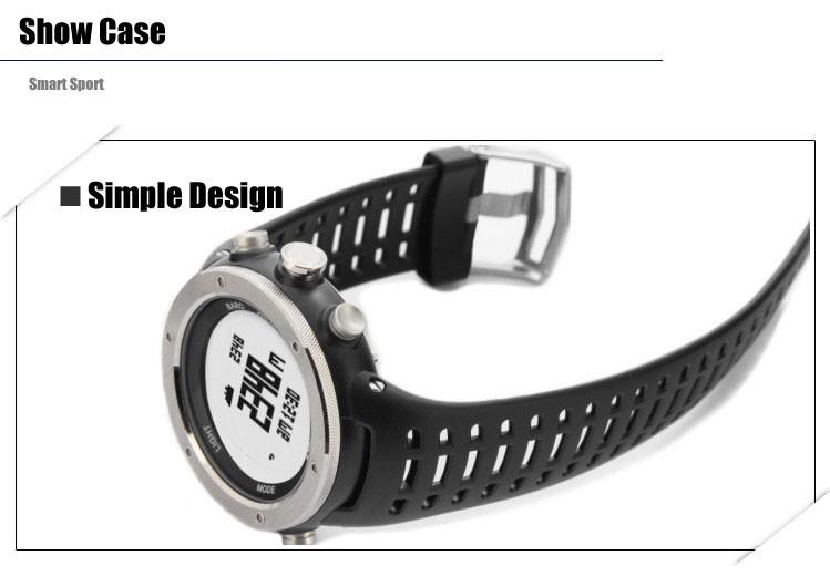 ezon watch H001B11 Mens Climbing watch with Compass, Altimeter & Barometer