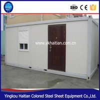 Low cost and quick assemble camp container house,prefabricated container house