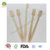 Natural bamboo Wood hot stamped flat head teppo skewer