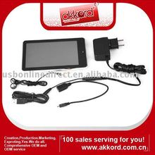 7 inch Touchscreen E-Book Reader & Mini Notebook with Android Browser