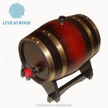 hot sale high quality solid wooden wine/beer/whisky/beans barrel