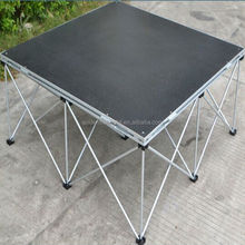 On sale aluminum portable stage for DJ drummer stage deck