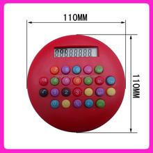 Hot sale colorful hamburg gift calculator,Round calculator
