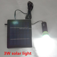 2014 new product 4000ma Li battery IP 55 protection level solar energy light for home outdoor using