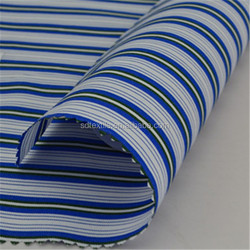 Comfortable and soft stripe for garment