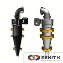 Zenith high efficiency hydro cyclone gold, hydro cyclone gold for mine processing