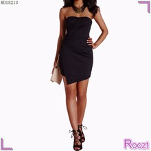 Newest Design Fashion Black Summer Casual Style High Quality Sleevless dresses for special occasions