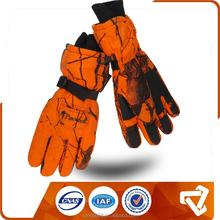 orange camouflage professional hunting shoot glove