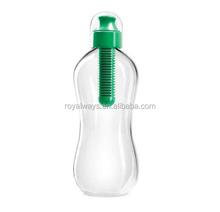 Primark audit factory BPA free 18oz PET carbon filter sport water bottle