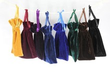 """4""""x6"""" Velvet Bags, Jewelry Wedding Party Gift, Drawstring Pouches"""