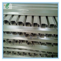 PVC material chicken cage plastic animal feed trough