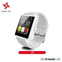 2015 New Arrival sport hot new designed U8 smart watch android dual sim with factory price