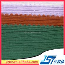 100% cotton imitate Paris crepe fabric linen fabric for dress