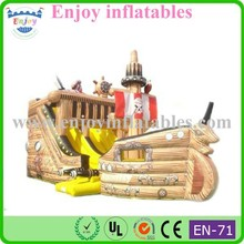 2015 Enjoy Classic Pirate Ship Inflatable Slide, Commercial Classic Inflatable Slide, inflatable slide for beach