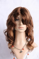 High quality unique loose curl wig making sewing machine