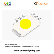 Popular good decoration products TL-S3528 12 voltage led strip lights