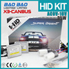 New Product HID KIT, hid canbus ballast, hid bi-xenon bulbs headlight projector lens h7 X3 AC 35w , BAOBAO Lighting