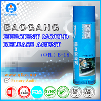 500ml Form release agent /Injection mould release agent Silicone spray B-18