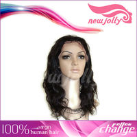 carnival body wave hair full lace wigs/ women party dress wig