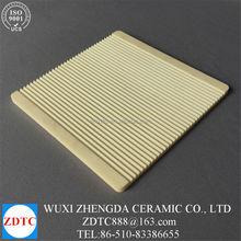 high purity aluminum oxide ceramic corrugated sheets