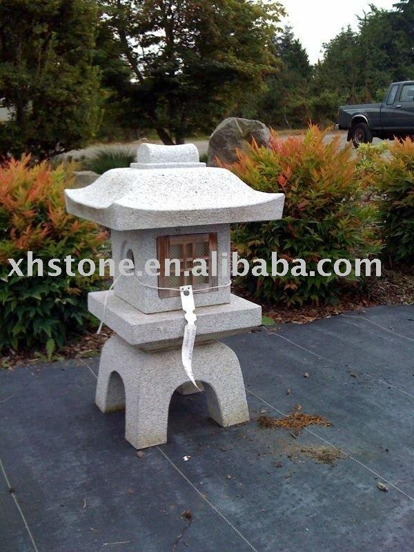 Neuen stil 2014 garten dekoration stein granit japanische pagode garten laternen 24 jahre ab - Japanische dekoration ...