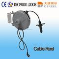 1.5mm2 3 pcs l 10m pequena bobina de cabo de cordão de couro trançado