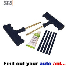 Heavy Duty Tubeless T-Handle Tire Plug Repair Kit
