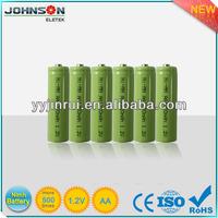 aa rechargeable 1.2v 1200mah nimh battery cells