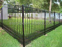 2015 Hot product Eco friendly High Quality steel fence panels for garden