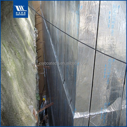 Aluminum Foil Covered Roofing Insulation Waterproof Material Bitumen