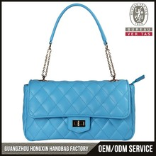 2015 hot new products brand design your own leather handbag