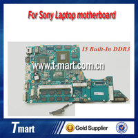 Original laptop motherboard for Sony SVS series A1884432A MBX-259 1P-0123700-A011 I5 CPU built-in Fully tested