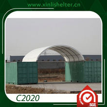 China Supplier Metal Frame Parking Canopy