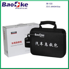 2015 Top Hot auto car first aid kit for vehicles/Road assistant kit, emergency survival kit/car emergency tool kit