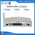Gpon onu ftth 2 4fe fxs passerelle voip wifi optique. 3g modem routeur