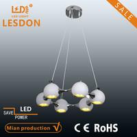 CE UL white pendant light & changing color chandelier & antique glass pendant lamp