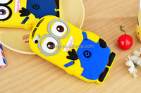 Cellphone Back Case Yellow Minion Soft Silicone Skin Protective Case For iPhone