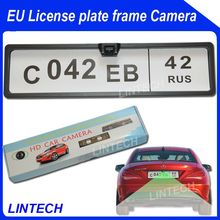 Wide view night vision license plate back up camera for bus/truck
