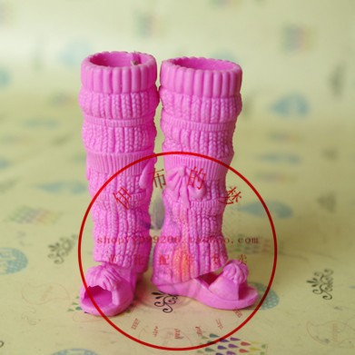 Free Transport,New 10pairs boots doll equipment style Footwear Boot For Barbie Doll