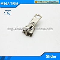 #5 autolock zipper Slider,zipper heads,metal slider zipper head lock