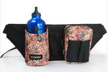 Outdoor climbing hiking kettle pocket fashion multifunctional hip bag
